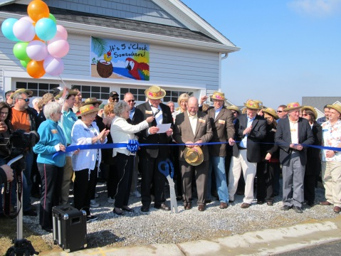The Somerset Ribbon Cutting Ceremony with Harry Miller and Senator Lawson