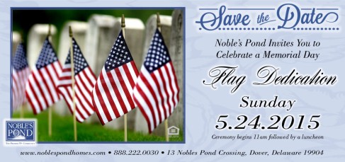 save the date MEMORIAL DAY