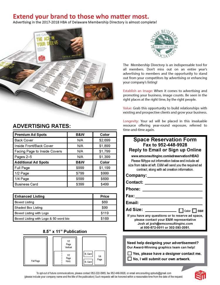 LastChance_2017-18 HBA of Delaware Directory